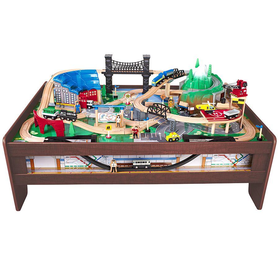 Imaginarium Metroline Train Table - Espresso | Toys R Us Babies R Us ...
