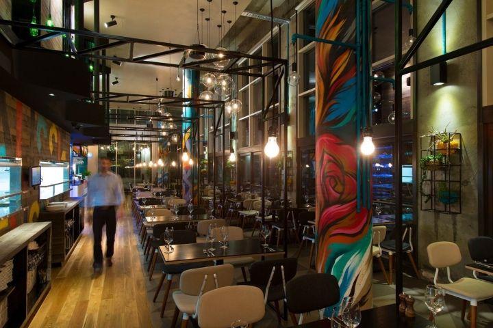 Bluetrain restaurant by Studio Equator, Melbourne   Australia hotels and restaurants
