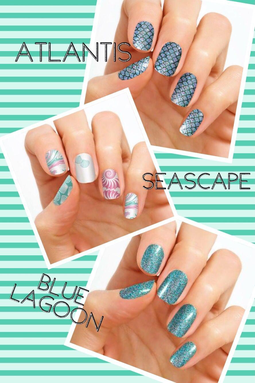 Atlantis Seascape Blue Lagoon Color Street Spring Designs