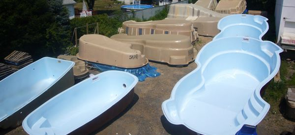 poolyard fs above ground fiberglass pools - Above Ground Fiberglass Swimming Pools