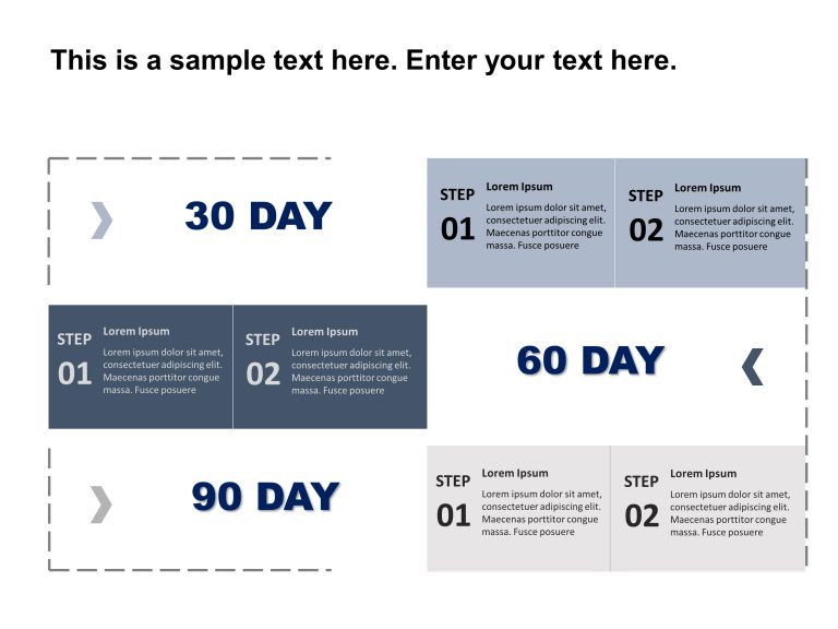 30 60 90 Day Plan Powerpoint Template 15 in 2020 90 day