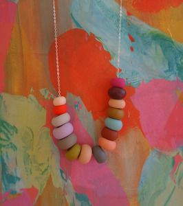 They're all so cute! Necklaces by Emily Green