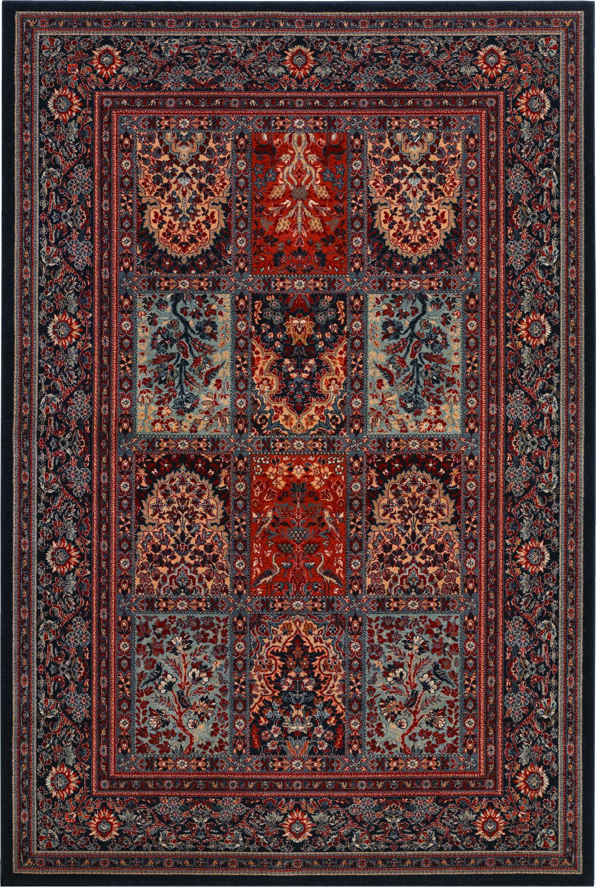 Couristan Timeless Treasures Vintage Baktia Ebony Couristan Persian Area Rugs Rugs On Carpet
