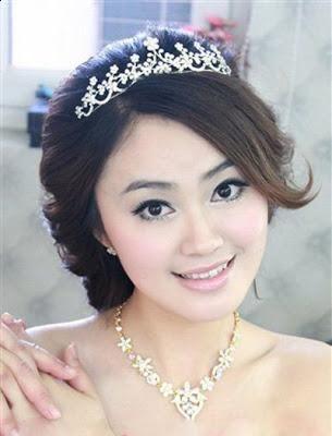 Korean Bridal Wedding Hairstyles