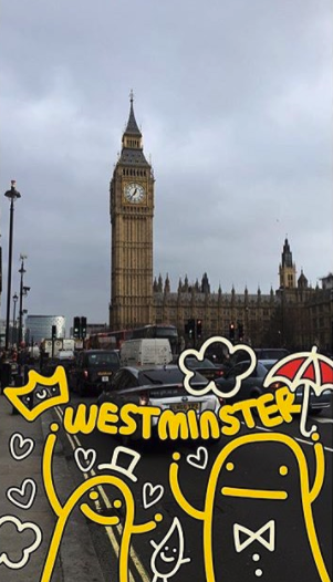 Westminster Geofilter Geofilter Snapchat Geofilters London Diary