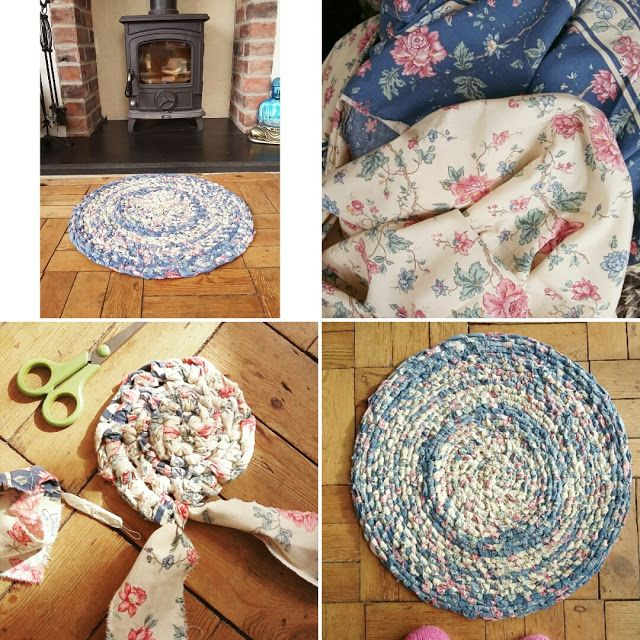 Tutorial How To Make A Toothbrush Amish Rag Rug Video