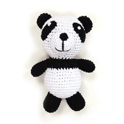 Interactive Dog Toys Exercise PAWer Squeaky Toy- Panda