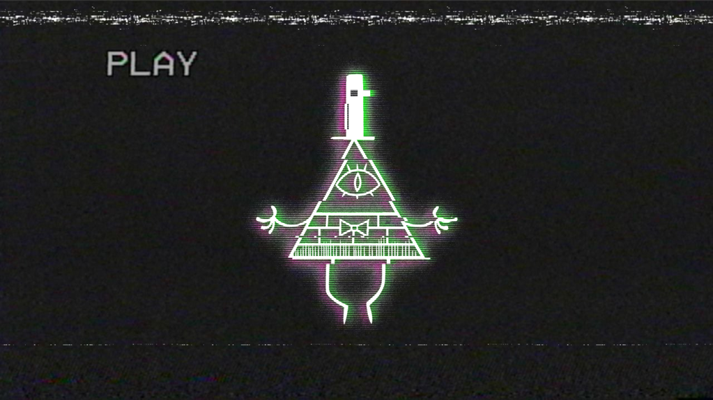 Glitched Bill Cipher Wallpaper from Gravity Falls by ...