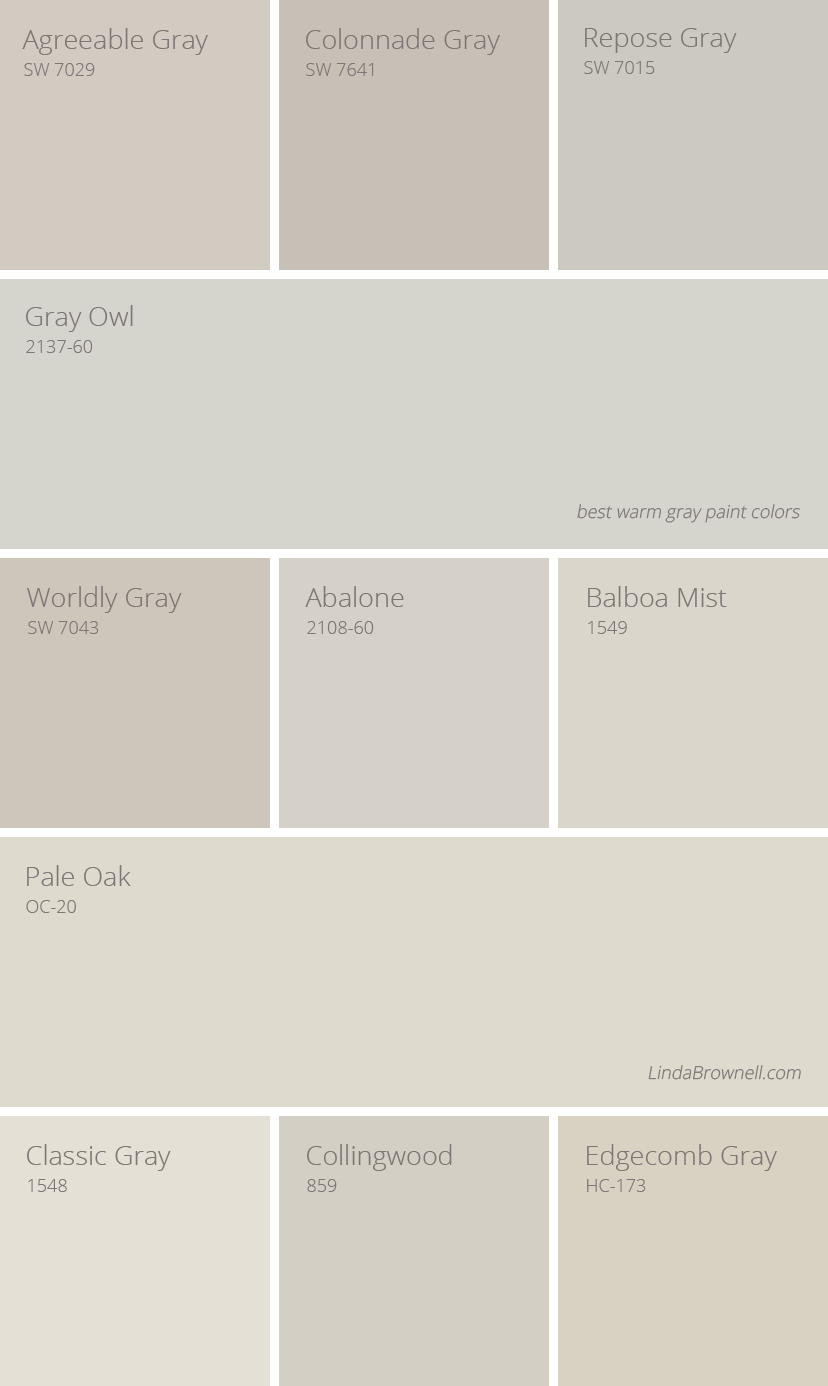 11 Greatest Best Warm Gray Paint Colors In 2019 Grey