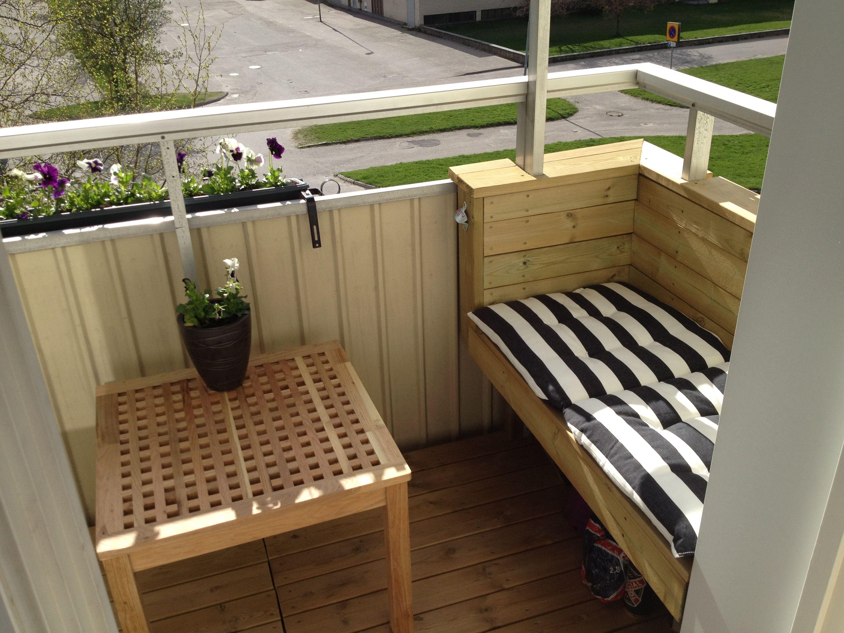 utemöbler balkong soffa