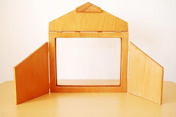 tuto pour fabriquer un kamishibai outil de conteur. Black Bedroom Furniture Sets. Home Design Ideas