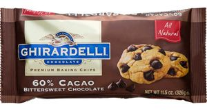Ghirardelli dark chocolate chips are used in my house all the time!