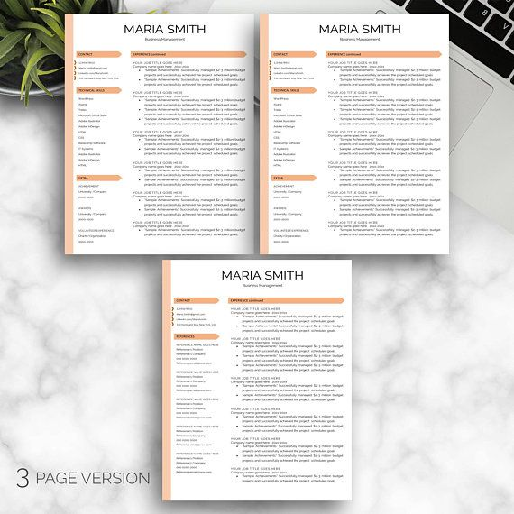 Professional Resume / CV Professional,Resume Design,Resume Word