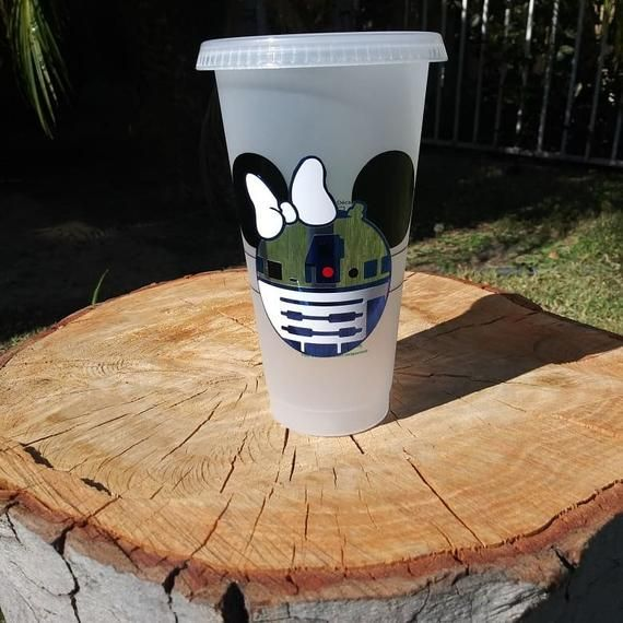Disney Inspired Starwars R2D2 Personalized Starbucks Cup, Starwars, R2D2, Disney Cup, Starwars Starbucks Tumbler, Starwars Tumbler, Minnie #disneycups