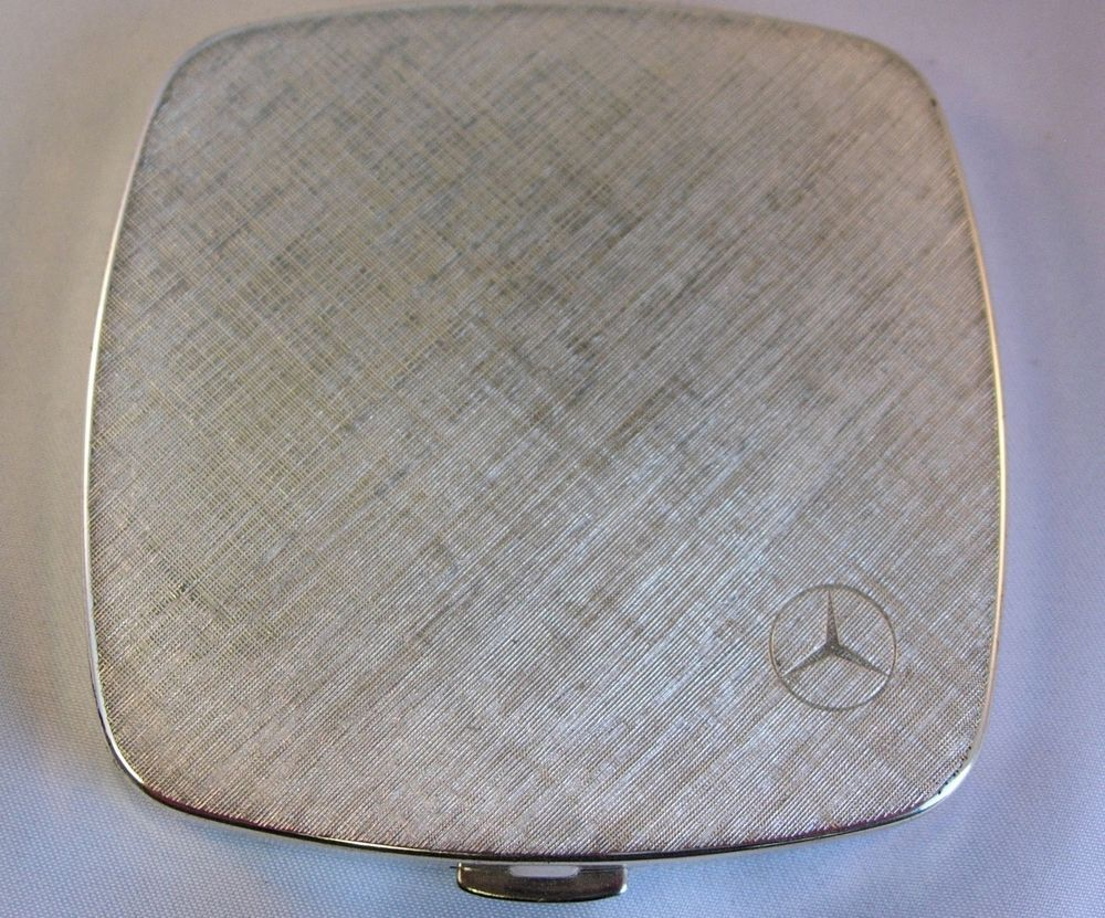 Vintage 1960s/70s  Mercedes Benz  Germany Powder Compact / Puderdose