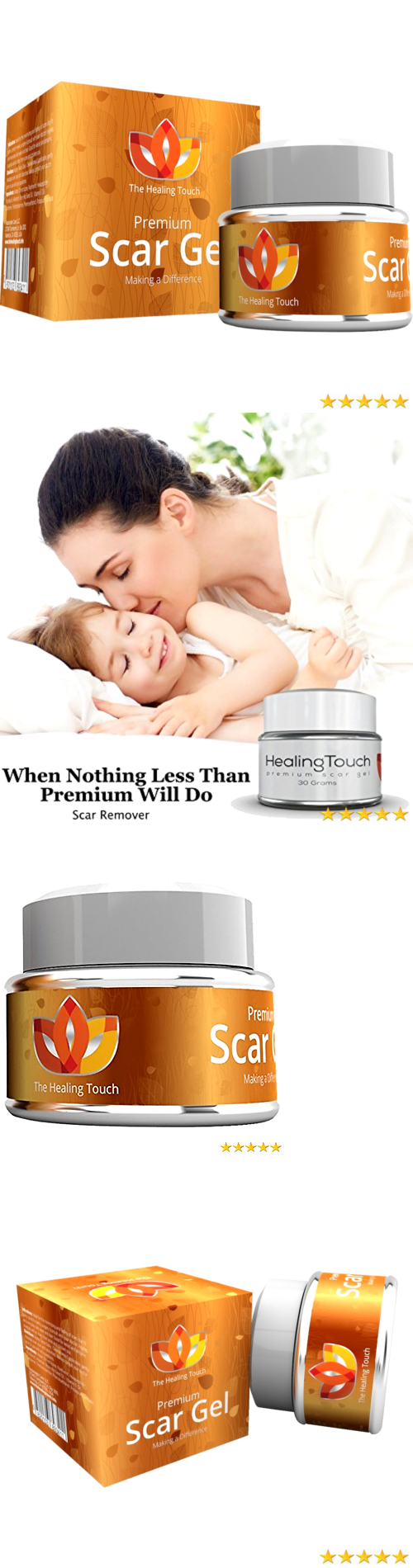Scar and Stretch Mark Reducers Scar Removal Maximum Strength Cream