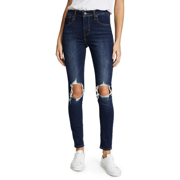 2018 New distressed skinny jeans - Blue Levi's Pre Order Online Cheap Sale Free Shipping Outlet Geniue Stockist A8Aa4Xfp