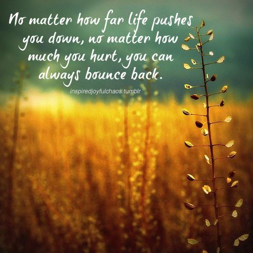 Bounce Back Quotes Custom You Are Designed To Bounce Back   Inspirational Wisdom And