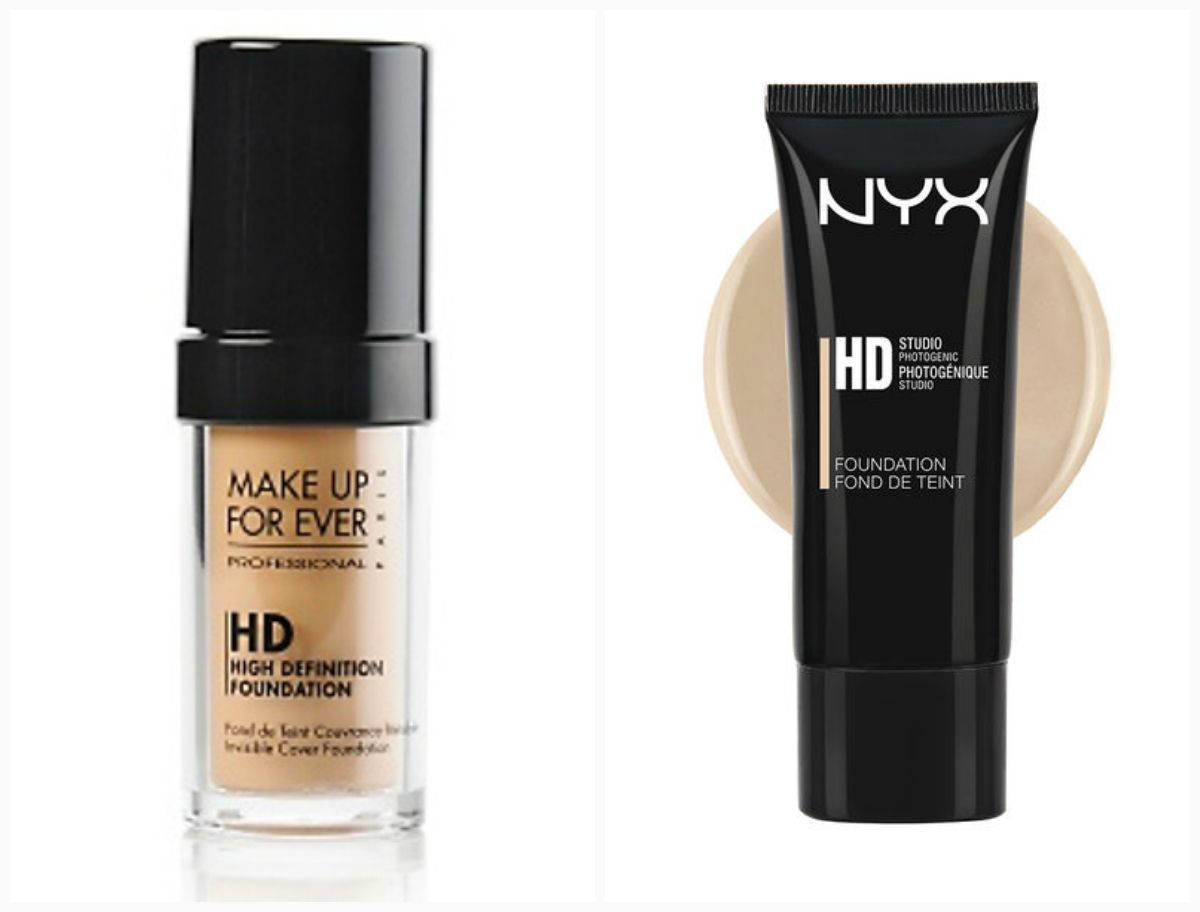 71773a1b2 1. Makeup forever ultra HD foundation | NYX HD foundationDupe or Don't?