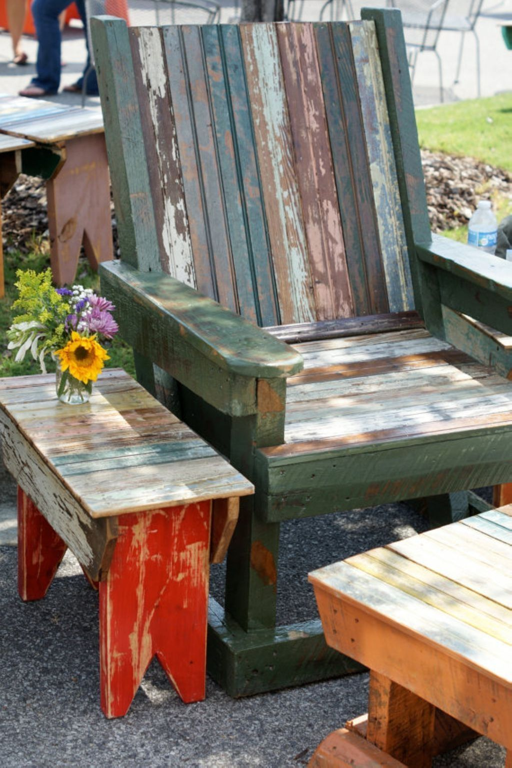 48 Modern Outdoor Chair Ideas for Wood Pallets