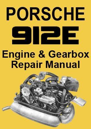 porsche 912 e usa model mechanical workshop manual pinterest rh pinterest com porsche 914 workshop manuals porsche 912 workshop manual download