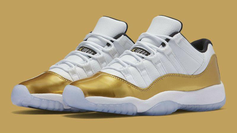 The Next Air Jordan 11 Low Is As Good As Gold Air Jordans Retro Air Jordans Air Jordan 11 Low