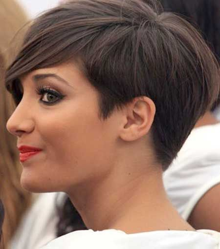 Frankie Sandford Hairstyles Back View Short Hair Pinterest