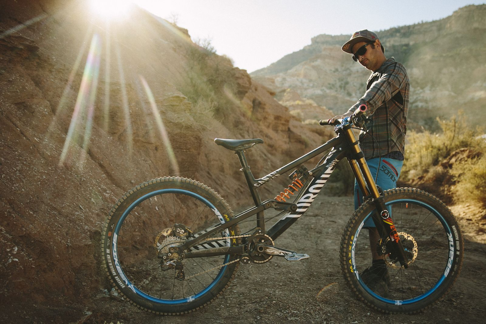 Want. Want. Want. It's like the ultimate MTB wish list. Check out what the pros, including Spank rider Darren Berrecloth, entrusted to get them down the mountain at this year's RedBull Rampage in Virgin, Utah USA.
