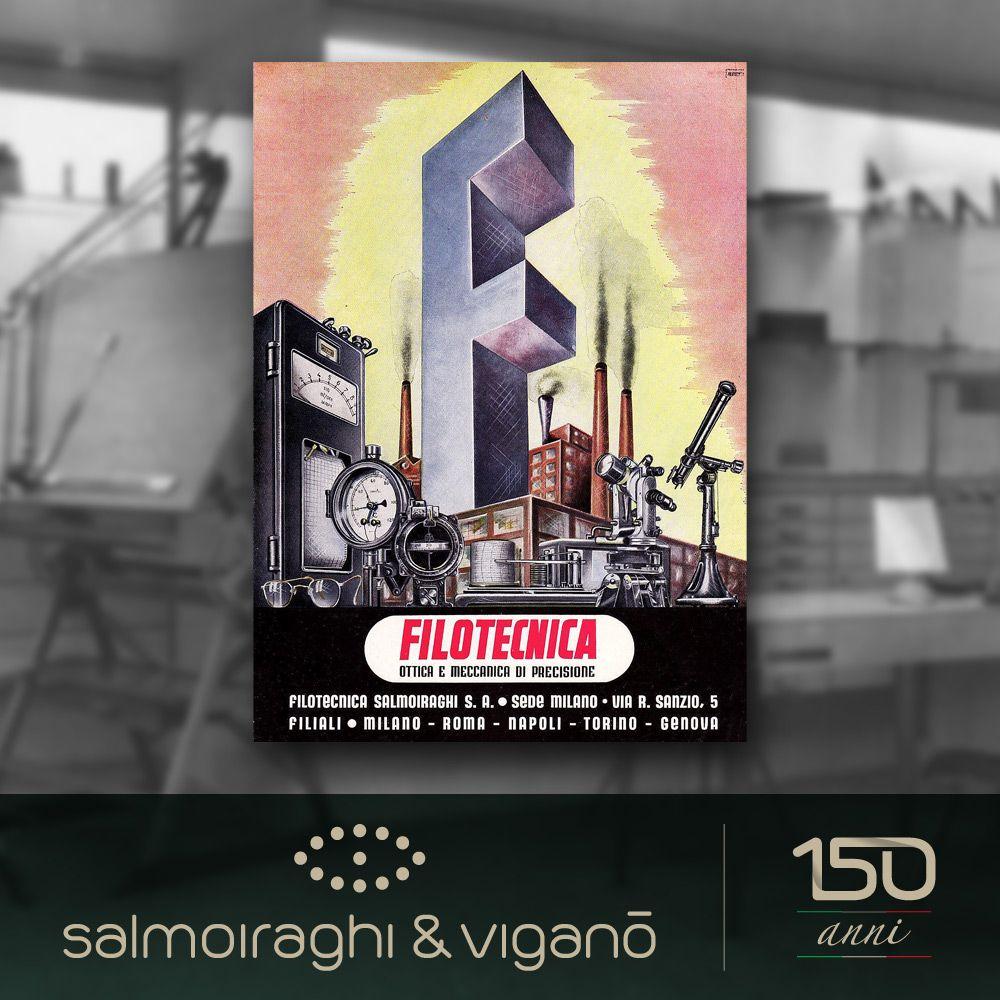 La comunicazione agli esordi: ecco una campagna pubblicitaria degli anni '20 dell'allora Filotecnica Salmoiraghi. #150salmoiraghi #SalmoiraghieViganò #shop #adv #advertising #storia #history #vista #occhiali #occhi #eyes #vintage #Milano #milan