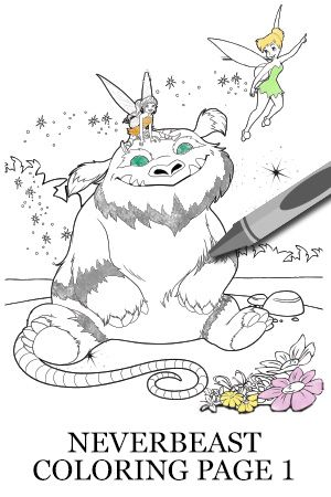 Legend of the NeverBeast Activity - Gruff Coloring Page 2 ...