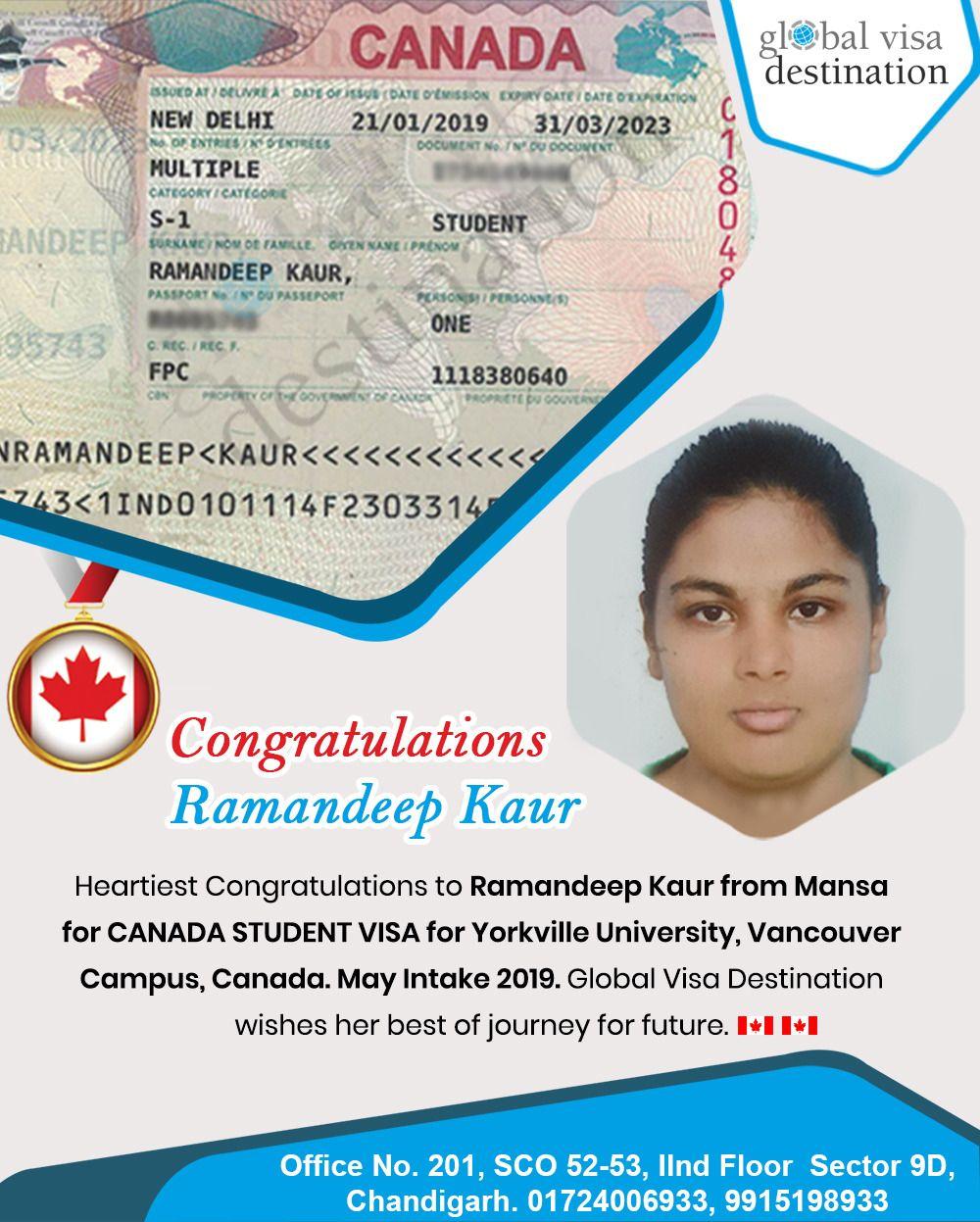 Yet Another Accolade Congrats To Ramandeep Kaur For Canada