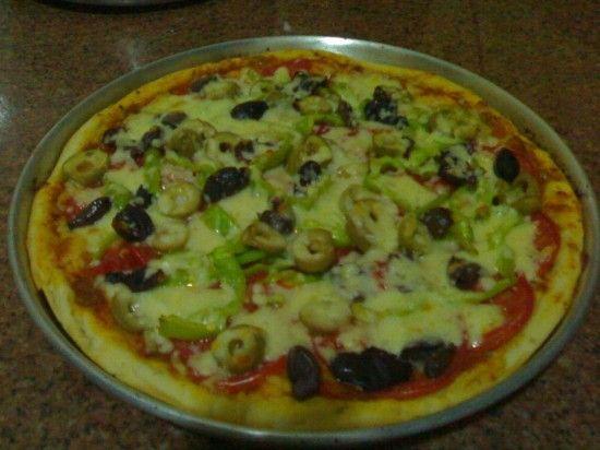 البيت السعيد طريقة عمل عجينة البيتزا الايطالي Vegetable Pizza Food Pizza