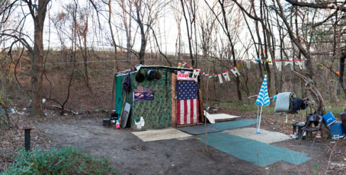 Photo via Ben Marcin/ C. Grimaldis Gallery (Pics of BMores Homeless Camps)