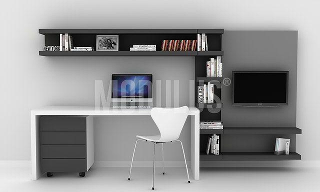 Escritorios modernos escritorios minimalistas for Sillones modernos buenos aires