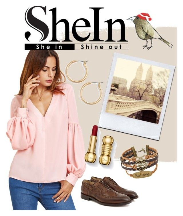 """""""SheIn pastel pink"""" by anafilipafonseca2004 ❤ liked on Polyvore featuring Nordstrom and Hudson"""