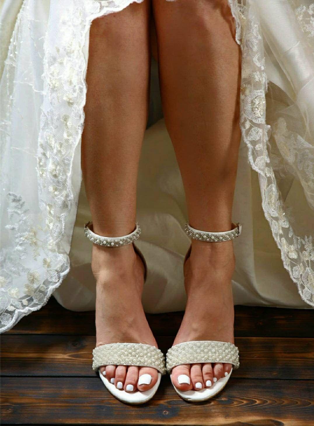 Bridal Block Heel Wedding Strappy Sandals Bridal Sandals For Etsy Strappy Wedding Shoes Block Heels Wedding Strappy Sandals Wedding