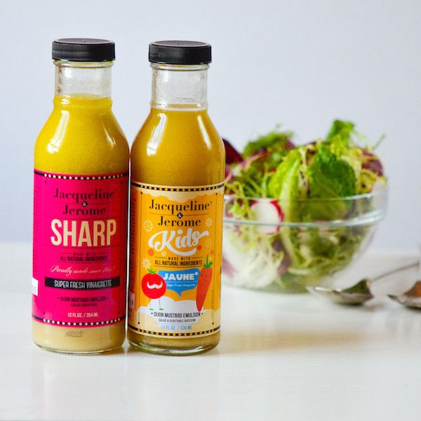 Dijon Family Pack | $11.99. This set includes two fresh, creamy vinaigrette dressings to serve the adults and the kids at your table. Available at: manykitchens.com
