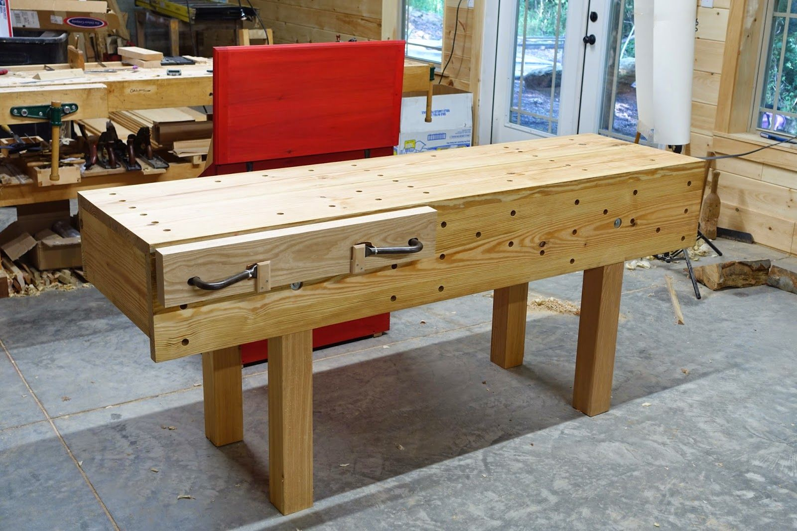 Caleb James Chairmaker Planemaker The Nicholson Bench With Holdfast Vice Woodworking Bench Plans Woodworking Bench Vise Woodworking Bench
