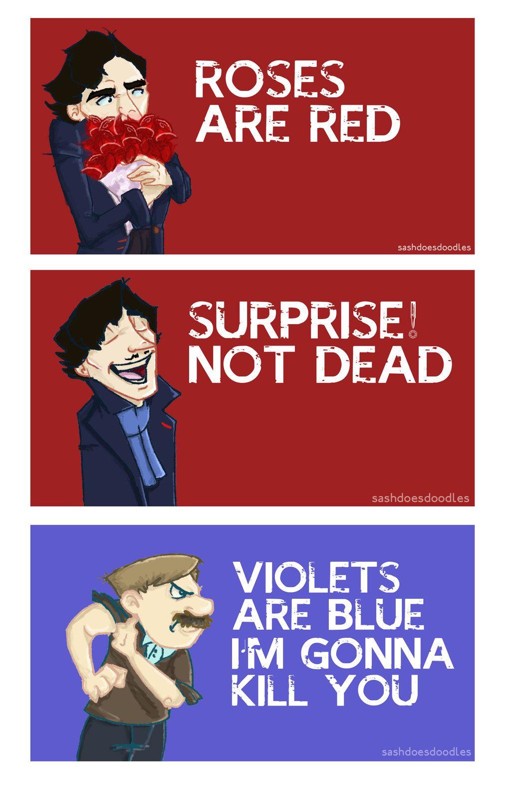 Sherlock Valentine's.. by SashDoesDoodles.deviantart.com on @deviantART