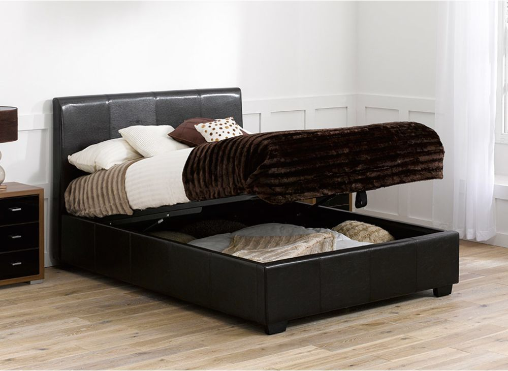Enjoyable Vienna Bed Frame Dreams Ottoman Bed Leather Bed Frame Beatyapartments Chair Design Images Beatyapartmentscom