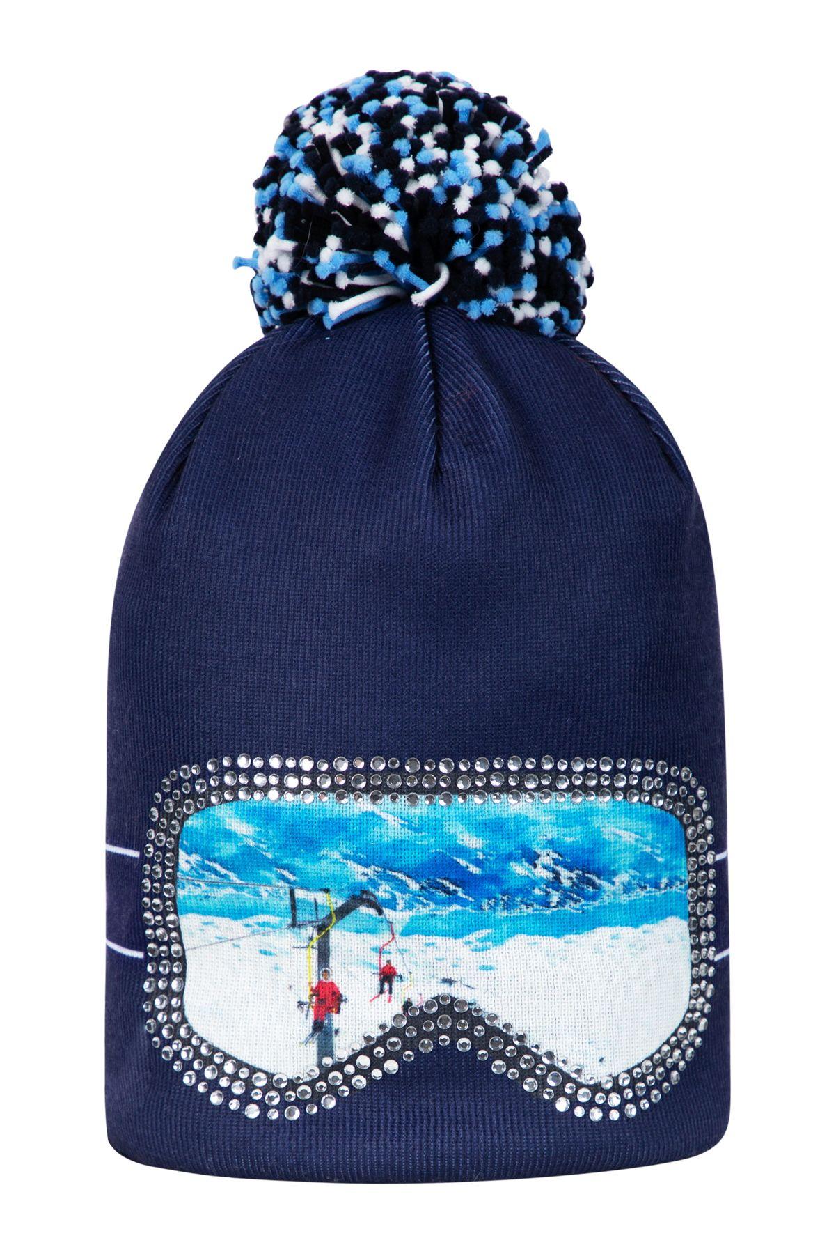 Sportalm Kitzbuehel Glasses 1953 Pom Pom hat perfect for winter ... b62273c05b5