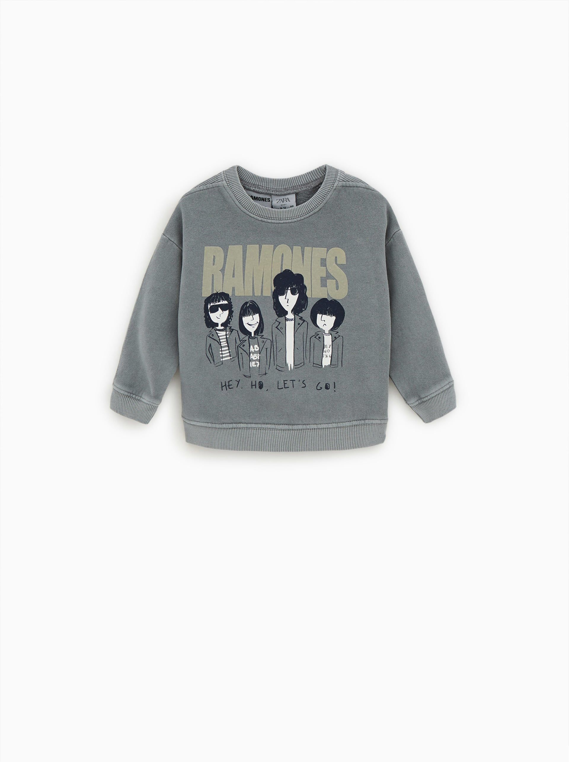 c5bc479b Image 1 of ©RAMONES SWEATSHIRT from Zara. Find this Pin and more on BABY ...