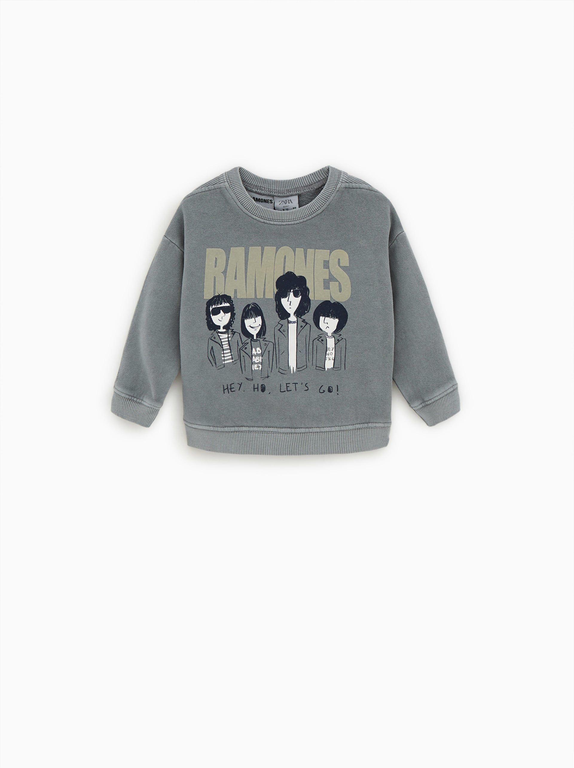 716fc91d ramones sweatshirt | BABY STYLE | Sweatshirts, Zara baby, Baby boy ...
