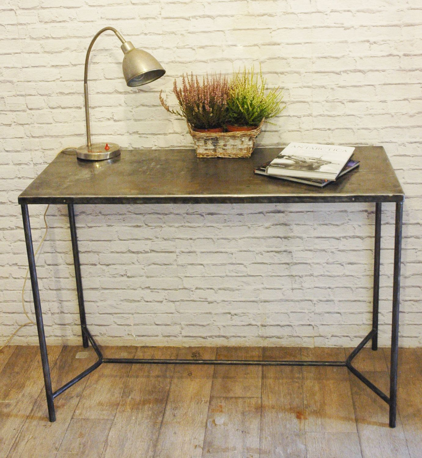 Industrial Metal Console Table 1950u0027 By TomRemaker On Etsy