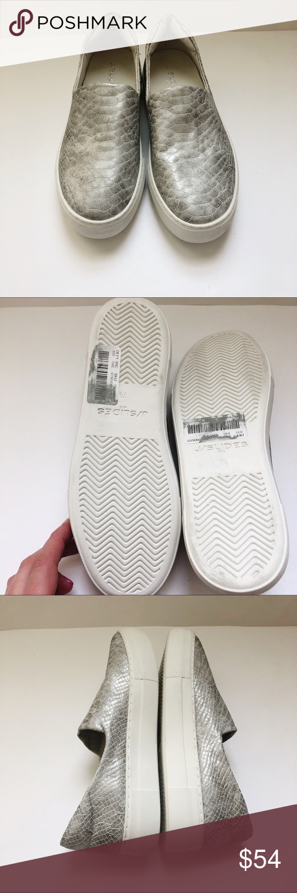 J Slides Arianna For Anthropologie Slip On Sz 7 5 Stylish Sneakers Slip On J Slides