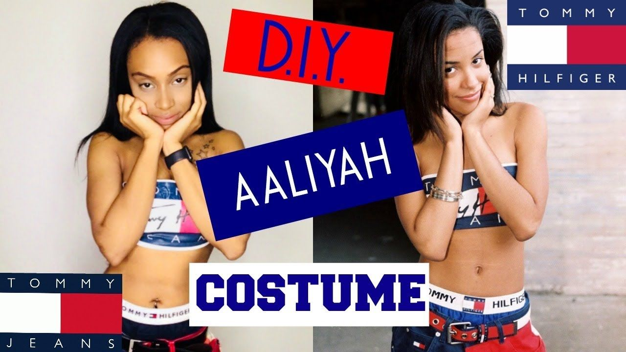 aaliyah tommy jeans