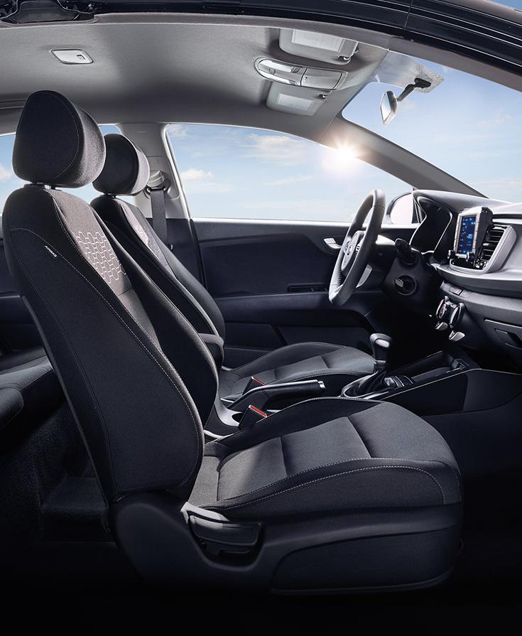 Comfort meets design. #KiaRio | Kia rio, Compact cars, Kia