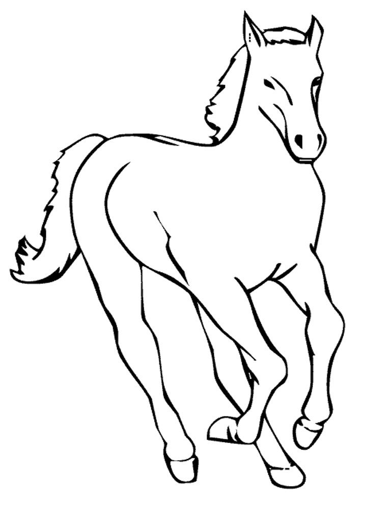 Free Printable Horse Coloring Pages For Kids Horse Coloring Pages Horse Coloring Animal Coloring Books