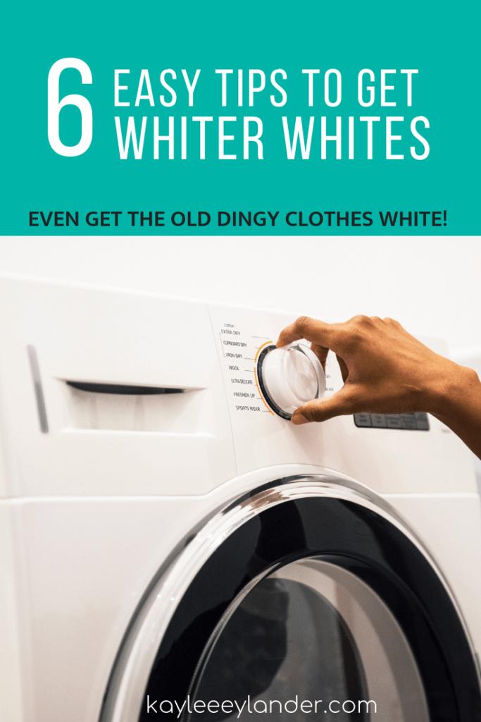Washing Whites How To Wash White Clothes Washing White Clothes White Wash White Outfits