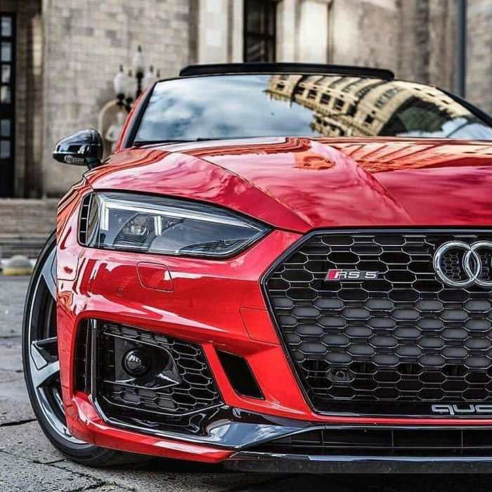 All New Audi RS5, Much Wow